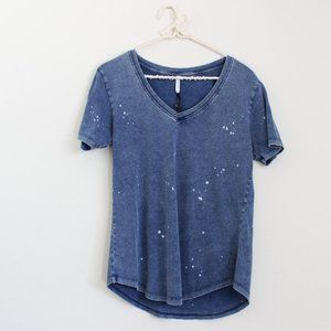 NWT Z Supply The Bleached V Neck Tee